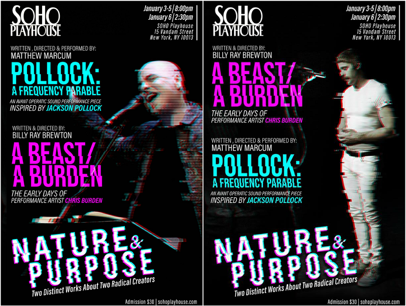 Pollock: A Frequency Parable finds Nature and Purpose with A Beast/A Burden at SoHo Playhouse